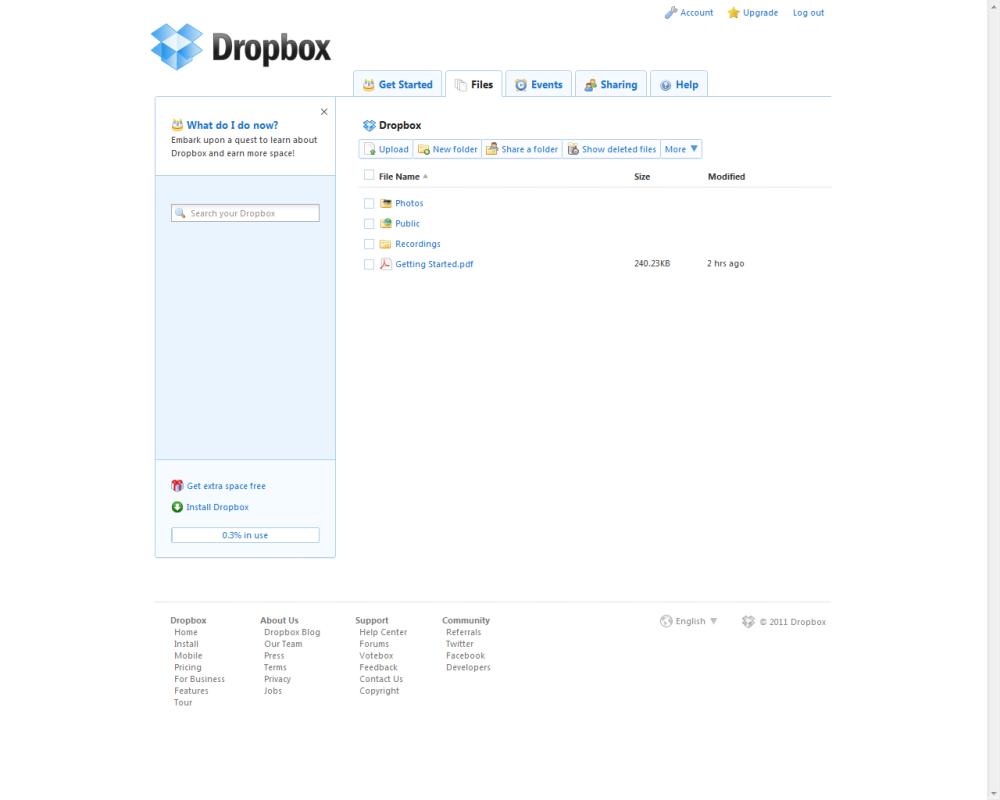 Why use Dropbox (2/2)